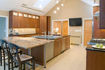 modern kitchen remodeling mass
