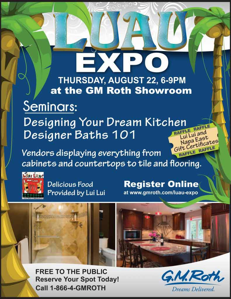 You\'re Invited to the GM Roth Luau Remodeling Expo | Nashua NH | GM ...