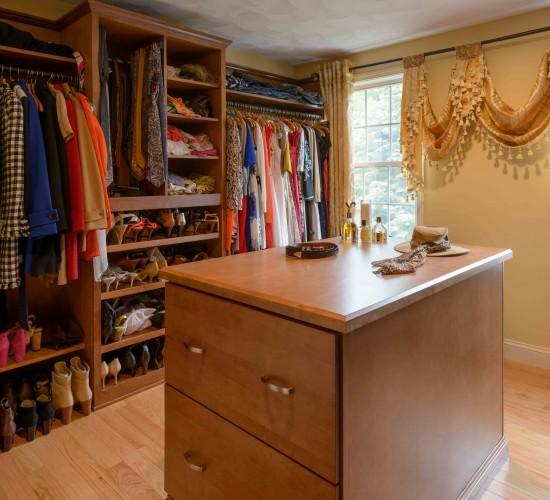 master closet remodel nashua n